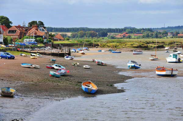 Harbour at Burnham Overy Staithe