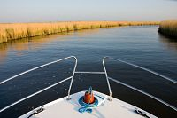 Boating on the River Bure in the Norfolk Broads